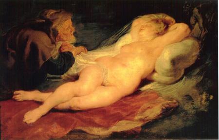 010 Peter Paul rubens Angelica con l'eremita 1626 - 28 Vienna Kunsthistorisches