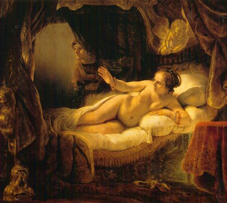 011 Rembrandt Danae 1636 San Pietroburgo Ermitage