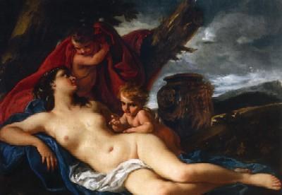 015 Sebastiano Ricci  Venere e due putti 1710  circa Vienna mercato antiquariale
