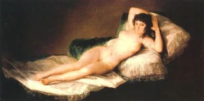 020 Francisco Goya - La Maya desnuda 1803 circa Madrid Prado
