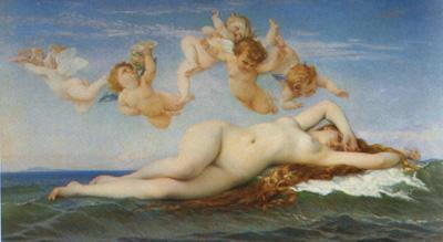 027 Alexandre Cabanel Nascita di Venere 1863 Parigi museo d'Orsay