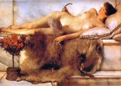 037 Laurence Alma Tadema  Nel tepidarum 1881 Port Sunlight Lever art Gallery