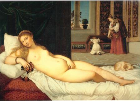 04 Tiziano Venere di Urbino 1537 - 38 Firenze Uffizi