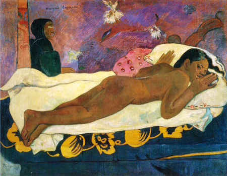 043 Paul Gauguin Manau Tupapau 1892 New York collezione Goodyear