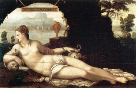 05 Jean Cousin Eva prima Pandora 1550 circa Parigi Louvre