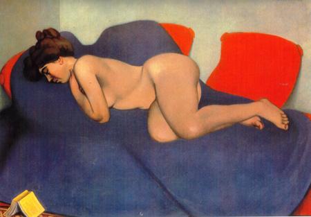052 Felix Vallotton Sonno 1908 Ginevra museo d'Art e d'Historie