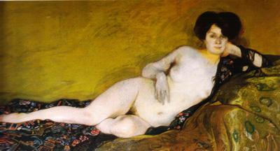 057 Ignacio Zuloaga y Zalabeta Irene 1910 Roma Galleria d'arte moderna