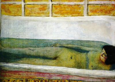 068 Pierre Bonnard Bagnante distesa 1925 londra Tate Gallery
