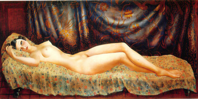 076 Moise Kisling Nudo di Arletty 1933 Ginevra museo d'arte modena