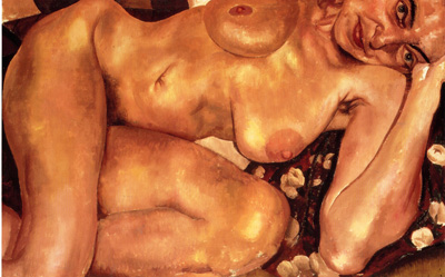 078 Stanley Spencer Nude 1935 Londra coll privata