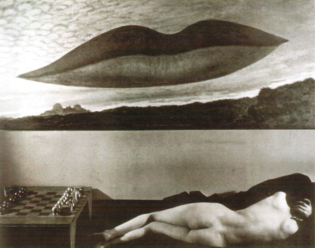 079 Man Ray Donna nuda con scacchiera 1936 New York collezione privata