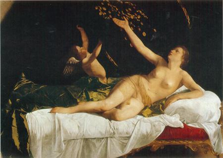 08 Orazio Gentileschi Danae 1622 - 23 Cleveland museum of art