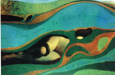 088 Max Ernest Il giardino di Francia 1962 Parigi Centro Pompidou