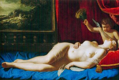 09 Artemisia Gentileschi Sonno 1620 - 25  circa Virginia museo di belle arti