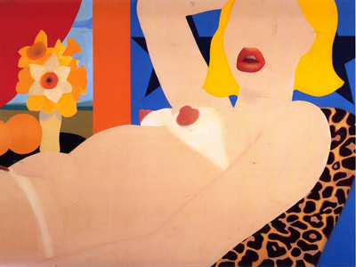 090 Tom Wesselmann Great american nude  1964    New York coll Clements