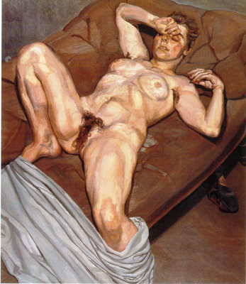 094 Lucian Freud Rose 1978 79  Tokyo coll Itani