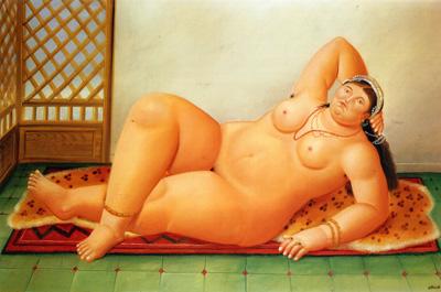 097 Fernando Botero Odalisque 1998  col artista