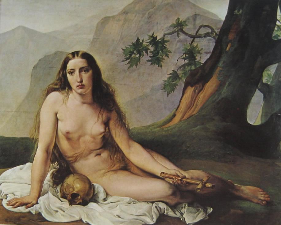 13 hayez - maddalena penitente