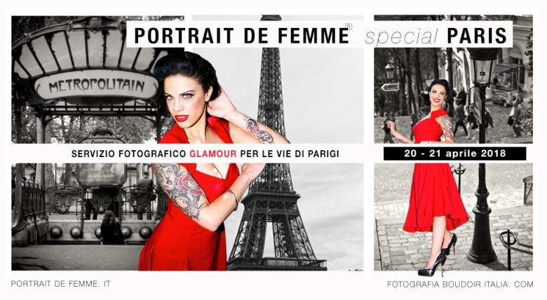 sitoportrait de femme Parigi_bianco