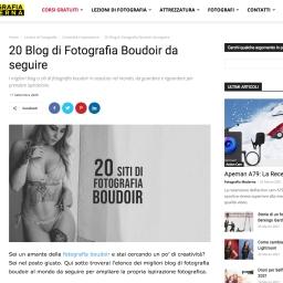 I 20 migliori siti internazionali di fotografia Boudoir